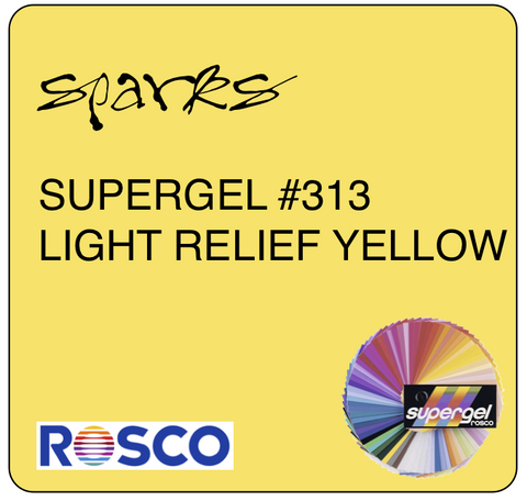 SUPERGEL #313 LIGHT RELIEF YELLOW