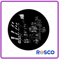 ROSCO STEEL GOBO 71012  	City Nightscape