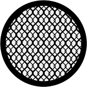 ROSCO STEEL GOBO 71022	Double Wire