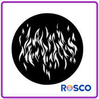 ROSCO STEEL GOBO 71024	Flames 7