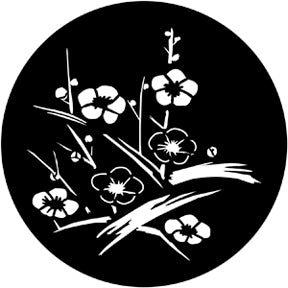 ROSCO STEEL GOBO 71031	Japanese Flowers