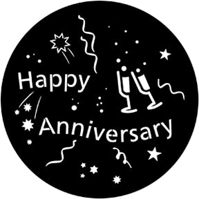 ROSCO STEEL GOBO 71061	Happy Anniversary