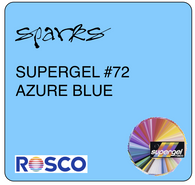 SUPERGEL #72 AZURE BLUE