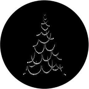 ROSCO STEEL GOBO 73632	Christmas Tree B