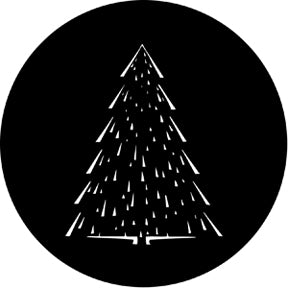ROSCO STEEL GOBO 73633	Christmas Tree C