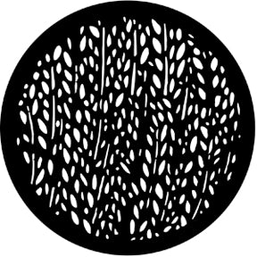 ROSCO STEEL GOBO 77116	Rice Pattern