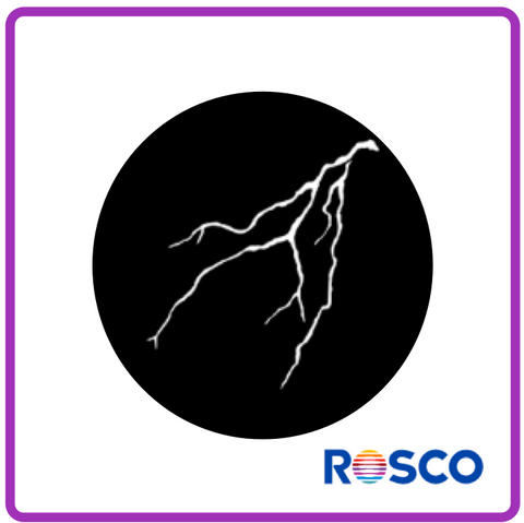 ROSCO STEEL GOBO 77177 Lightning 2