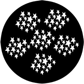 ROSCO STEEL GOBO 77202 STARS 2