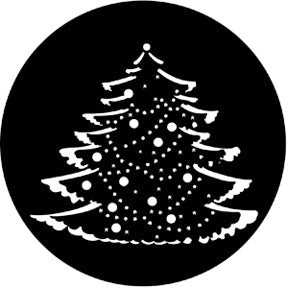ROSCO STEEL GOBO 77227	Christmas Tree Complete