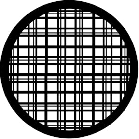 ROSCO STEEL GOBO 77424	Plaid
