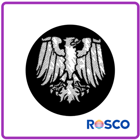 ROSCO STEEL GOBO 77516	Meshed Eagle