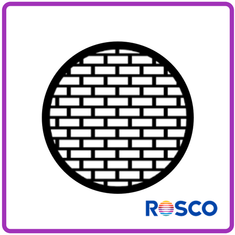 ROSCO STEEL GOBO 77527	Bricks