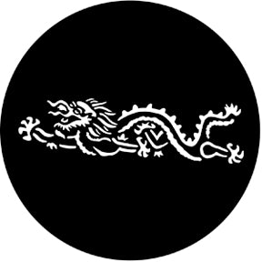ROSCO STEEL GOBO 77558	Chinese Dragon