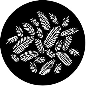 ROSCO STEEL GOBO 77593	Ferns