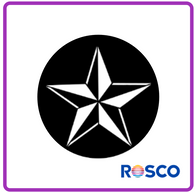 ROSCO STEEL GOBO 77598	3D Star