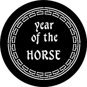 ROSCO STEEL GOBO 77652C Year Of The Horse