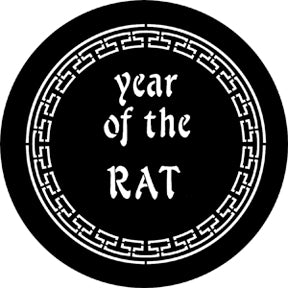 ROSCO STEEL GOBO 77652H Year Of The Rat