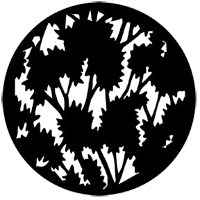 ROSCO STEEL GOBO 77804	Foliage (Large)