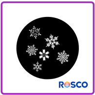 ROSCO STEEL GOBO 77837	Snowfall