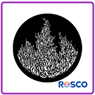 ROSCO STEEL GOBO 77859	Flames 3