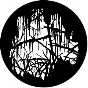 ROSCO STEEL GOBO 77862	Spooky Wood