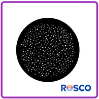 ROSCO STEEL GOBO 77884	Snow