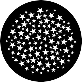 ROSCO STEEL GOBO 77932	Stars 6