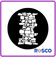 ROSCO STEEL GOBO 77950	Dry Stone Wall 1