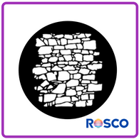 ROSCO STEEL GOBO 77951  	Dry Stone Wall 2