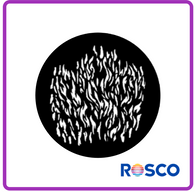 ROSCO STEEL GOBO 77960	Flames 4