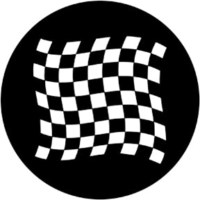 ROSCO STEEL GOBO 78050 CHEQUERED FLAG 1