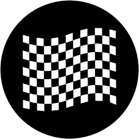 ROSCO STEEL GOBO 78051 CHEQUERED FLAG 2