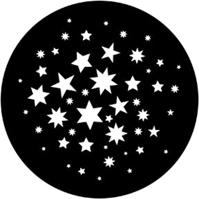 ROSCO STEEL GOBO 78122	Stars 7