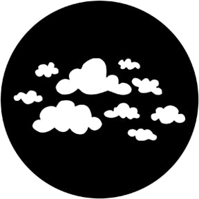 ROSCO STEEL GOBO 78169	Childish Clouds