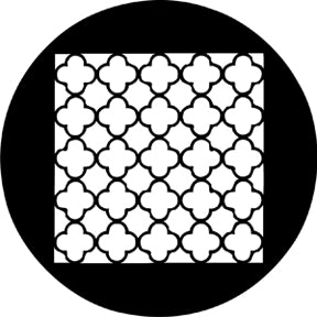 ROSCO STEEL GOBO 78210 CHINESE LATTICE