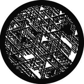 ROSCO STEEL GOBO 78227	Broken Weave