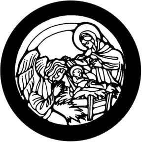 ROSCO STEEL GOBO 78393	Nativity