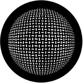 ROSCO STEEL GOBO 78445	Grid Sphere
