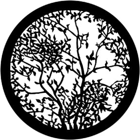 ROSCO STEEL GOBO 79107	Leafy Branches 2
