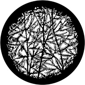 ROSCO STEEL GOBO 79110	Leafy Branches 4