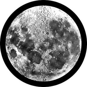ROSCO 82700 GLASS GOBO MOON