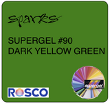Rosco Supergel 90 Dark Yellow Green