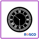 ROSCO STEEL GOBO 77920	Clock Face