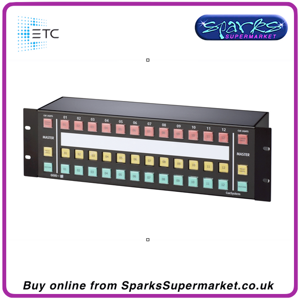 ETC CueSystem 12 Channel Rack Mount Control Desk
