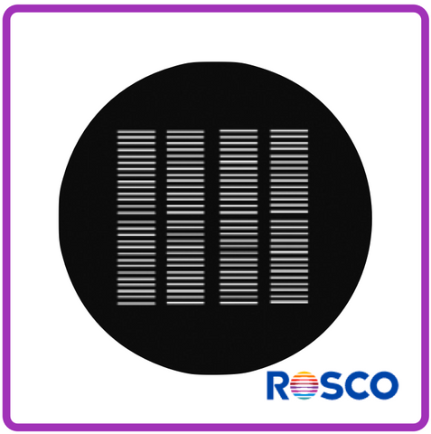 ROSCO GAM STEEL GOBO G204      Shutters