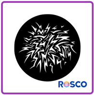 ROSCO GAM STEEL GOBO G418      Crackle