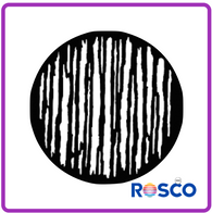 ROSCO GAM STEEL GOBO G673      Linear Breakup