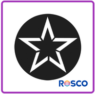 ROSCO GAM STEEL GOBO G736      Star Tunnel
