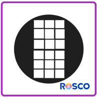 ROSCO GAM STEEL GOBO G758      Office Window 3