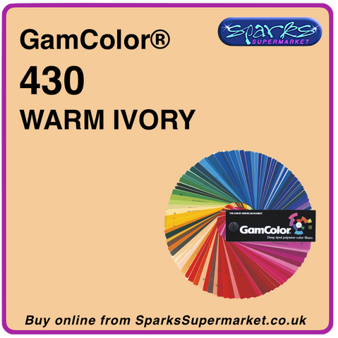 Gam Color 430 Warm Ivory